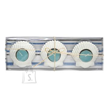 Küünlajalad Blue Shell 3tk/kompl