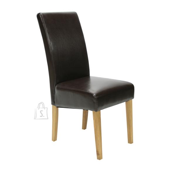 Söögitoa tool Tiffani tumepruun