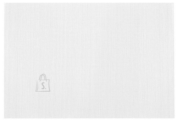Lauamatt Textiline valge