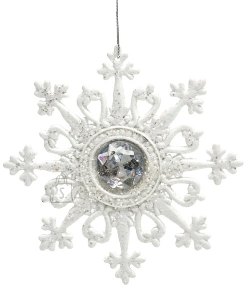 Jõuluehe WHITE, 12.5x12.5cm, lumehelves