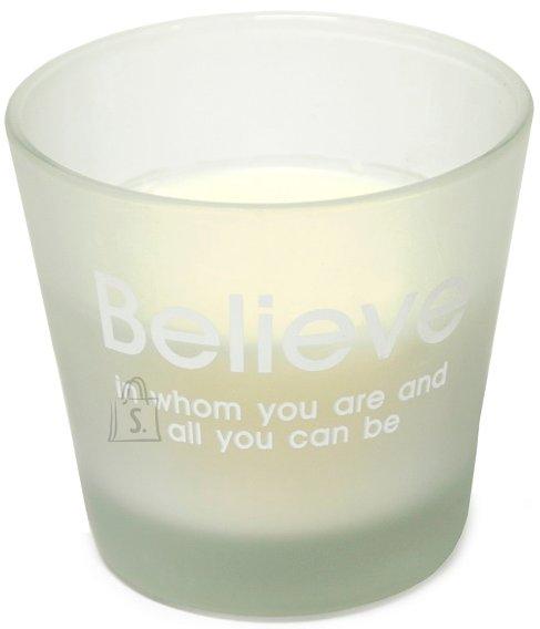 Klaasküünal Ecowick vaniljelõhnaline