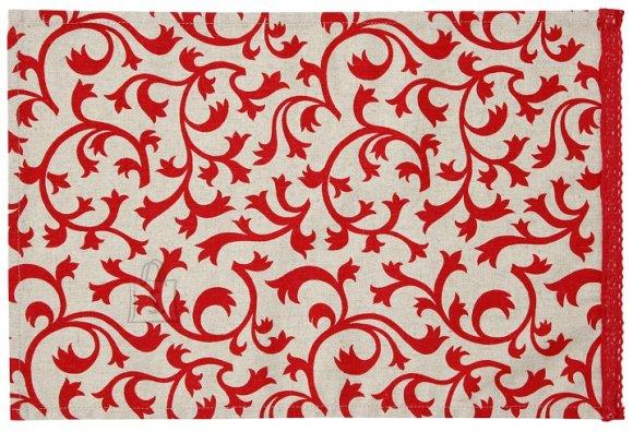 Linik Red & White 30x45 cm