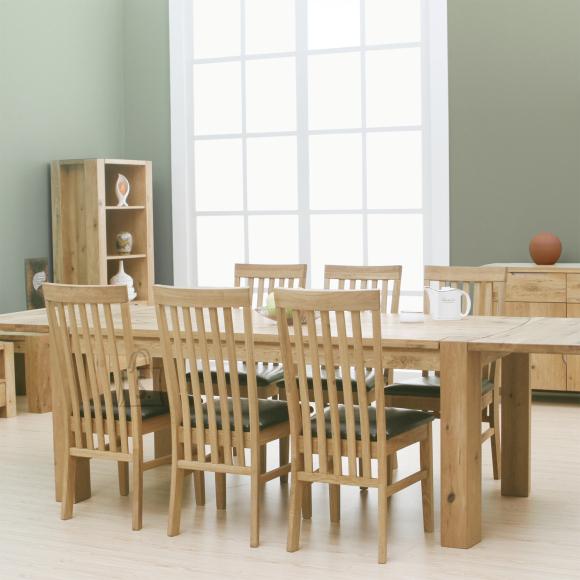 Söögitoakomplekt  Philadelphia laud + 6 tooli