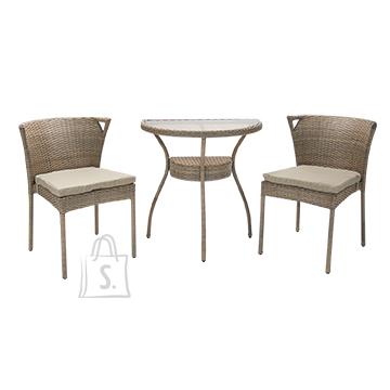 Rõdukomplekt Breeze laud ja 2 tooli