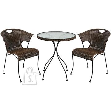 Aiamööbli komplekt Billy laud ja 2 tooli