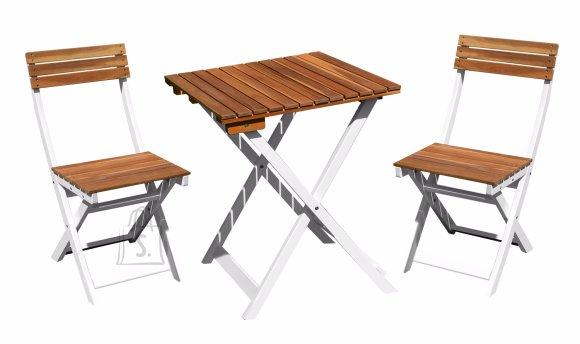 aiamaööbli komplekt Duo laud ja kaks tooli
