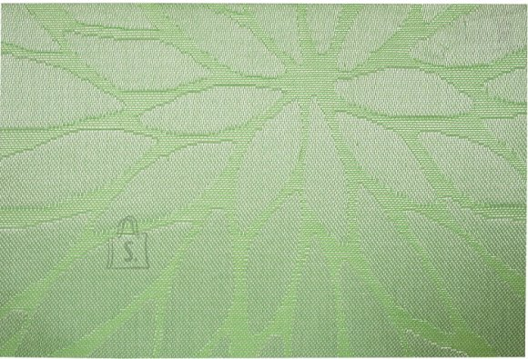 Lauamatt Textiline roheline/leht