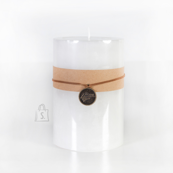 Küünal Pure White 15 cm valge