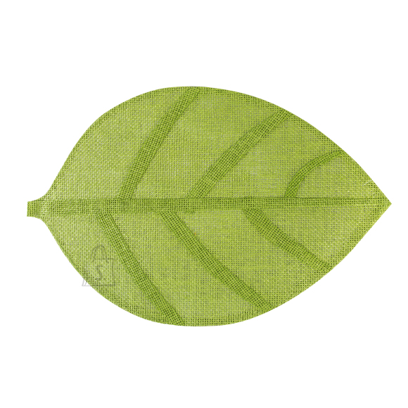 Lauamatt Leaf 45 x 30 cm roheline
