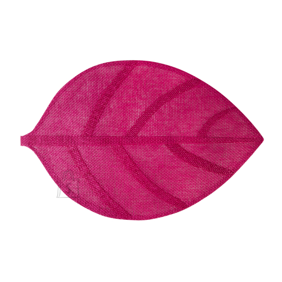 Lauamatt Leaf 45 x 30 cm roosa