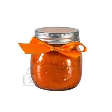Klaaspurk küünlaga Mini Jarra oranž
