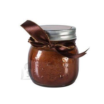 Klaaspurk küünlaga Mini Jarra pruun