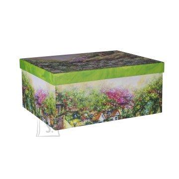 Pappkarp Glitter House 2 35x27x15.5 cm