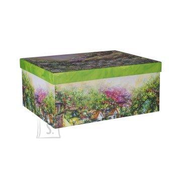 Pappkarp Glitter House 3 33x25x14.5 cm