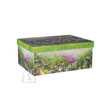 Pappkarp Glitter House 4 31x23.5x13.5 cm