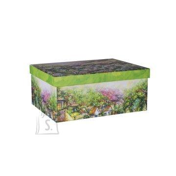 Pappkarp Glitter House 6 27x20x11.5 cm