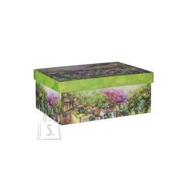 Pappkarp Glitter House 7 25x18x10.5
