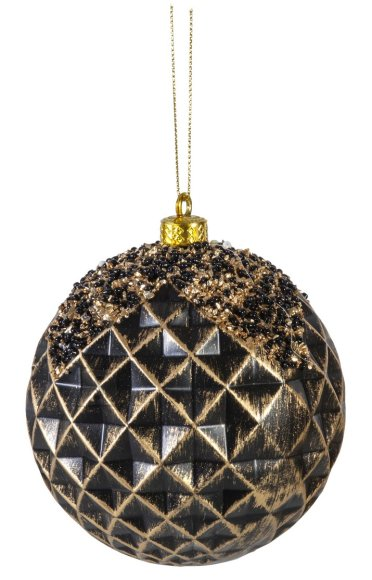 Jõuluehe Antique Black Ø8 cm