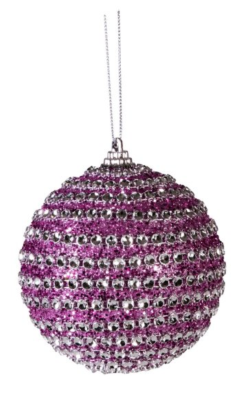 Jõuluehe Litter Purple Ø8 cm