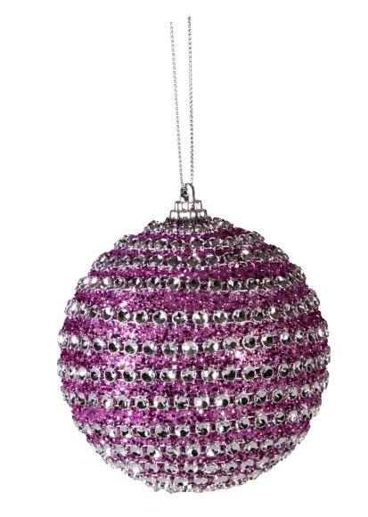 Jõuluehe Litter Purple Ø10 cm