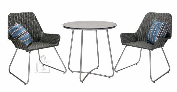 Aiamööbli komplekt Java laud ja 2 tooli