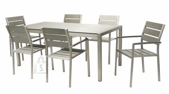 Aiamööbli komplekt Paola laud ja 6 tooli