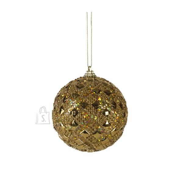 Jõuluehe Glitter Gold Ø10 cm