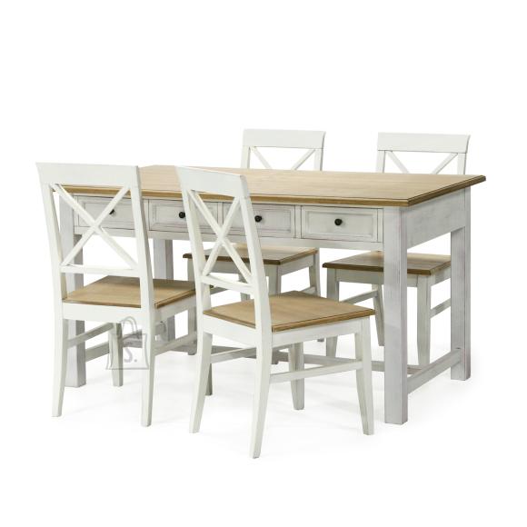 Söögilauakomplekt Samira 4-tooliga
