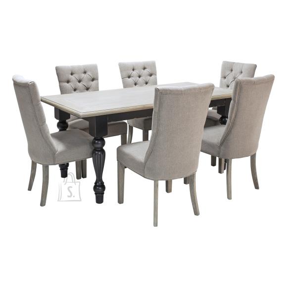 Söögilauakomplekt Watson laud + 6 tooli