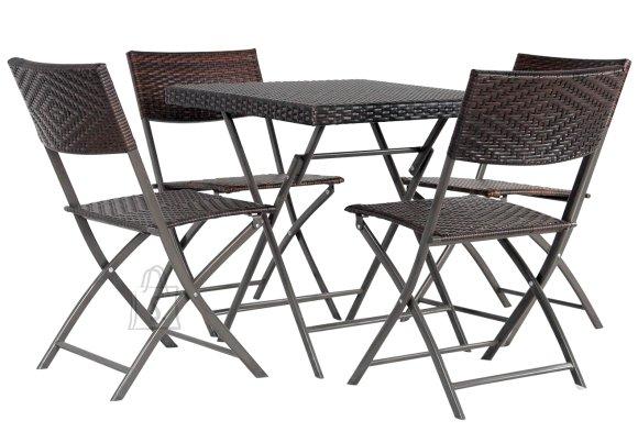 Aiamööblikomplekt Nico laud ja 4 tooli