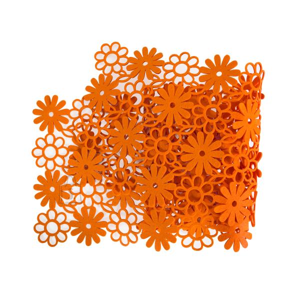 Laualinik FENNY, 33x140cm, oranž vilt