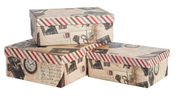 Pappkarpide komplekt Old Letter