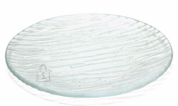 Klaasist küünlaalus 14.5x14.5cm