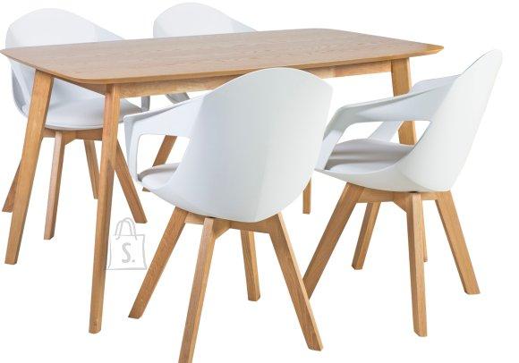 Söögilauakomplekt Enrich 4-tooliga Stuart