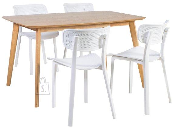 Söögilauakomplekt Enrich 4-tooliga Novella