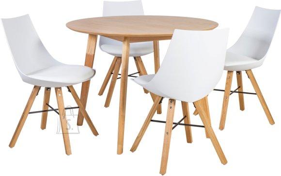Söögilauakomplekt Leon 4 tooliga Seiko