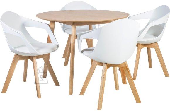 Söögilauakomplekt Leon 4-tooliga Stuart