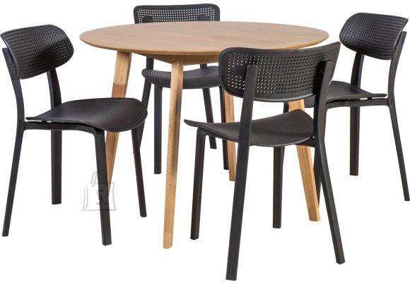 Söögilauakomplekt Leon 4 tooliga Novella