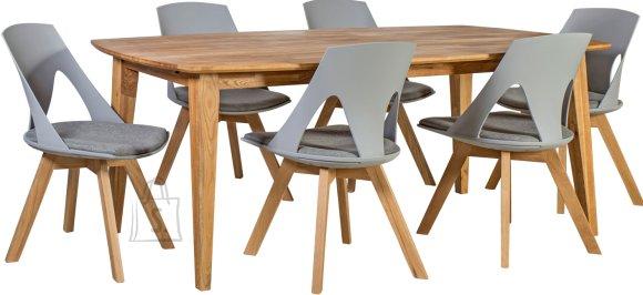 Söögilauakomplekt Retro 6-tooliga Sanders