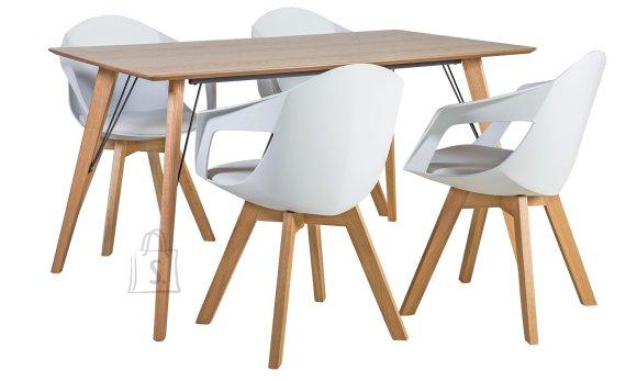 Söögilauakomplekt Helena 4-tooliga Stuart