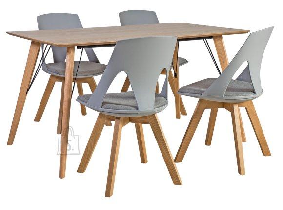 Söögilauakomplekt Helena 4-tooliga Sanders