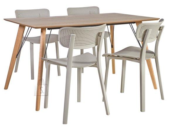 Söögilauakomplekt Helena 4-tooliga Novella