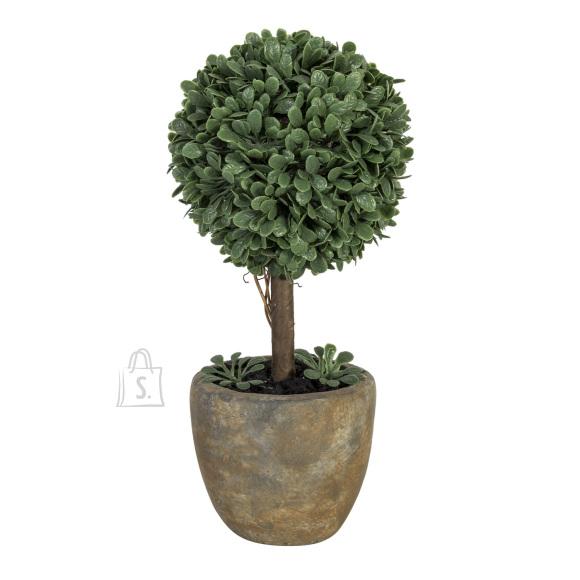 Roheline kunstpuu Buxus 22 cm