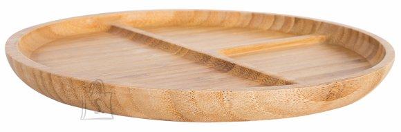 Ümmargune serveerimisalus Bamboo Home 25cm