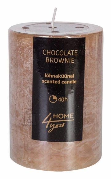 Ümmargune lõhnav lauaküünal 9,5cm