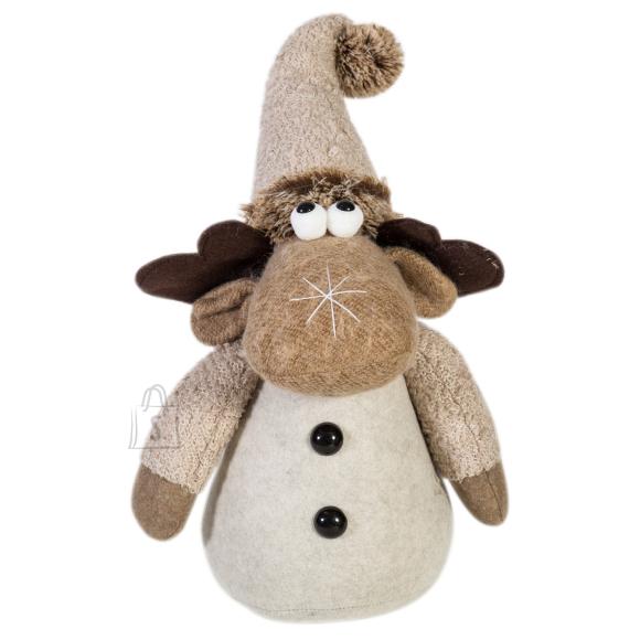 Jõuludekoratsioon Põder tutimütsiga