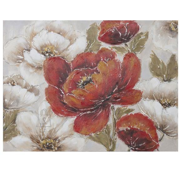 """Õlimaal """"Punased ja valged lilled"""""""
