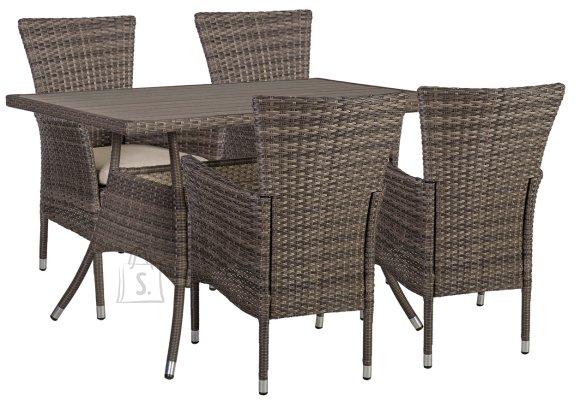 Aiamööblikomplekt Paloma laud + 4 tooli