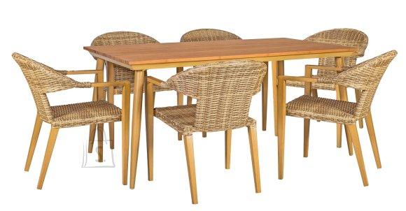 Aiamööbli komplekt Greenwood 6-tooliga