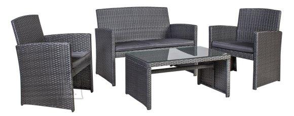Aiamööblikomplekt Fairlop  laud, diivan ja 2 tooli